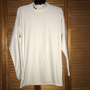 Under Armour Coldgear White Long Sleeve Top